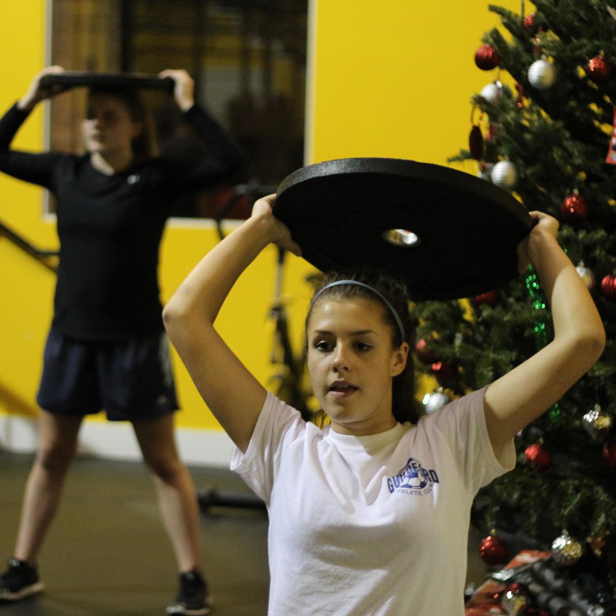 girls strength program