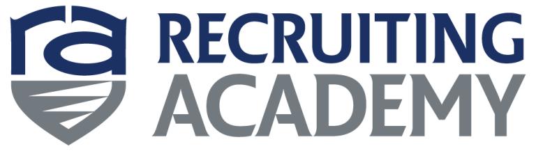 recruiting academy logo horizontal